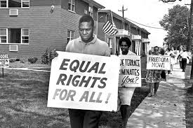 The continuous pursuit of civil rights –